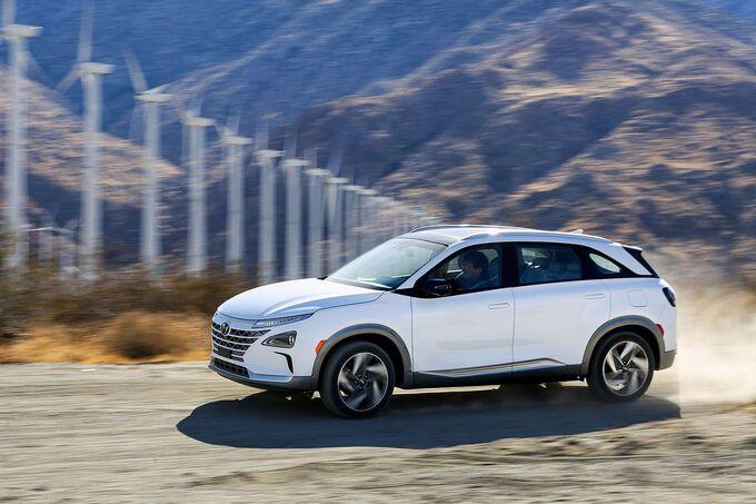 Hyundai Brennstoffzellen Serienmodell 2018