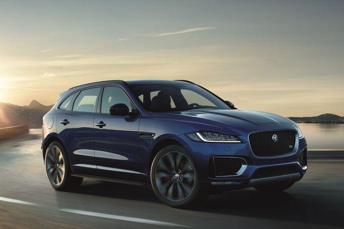 Jaguar Land Rover Inmotion Carpe f pace