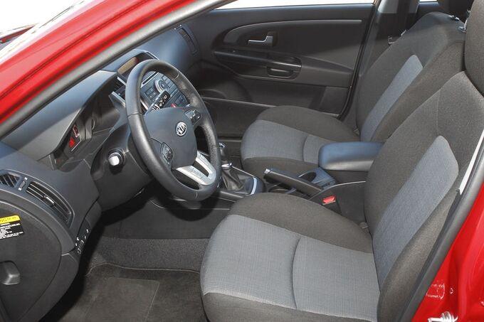 Kia Cee'd Fahrersitz