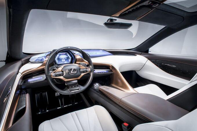 Lexus LF-1, Innenraum