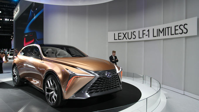 Lexus LF-1 Limitless Studie 2018