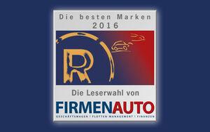 Logo Beste Marken FIRMENAUTO 2016