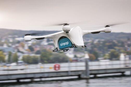 Matternet Drohnen und Siroop 2017
