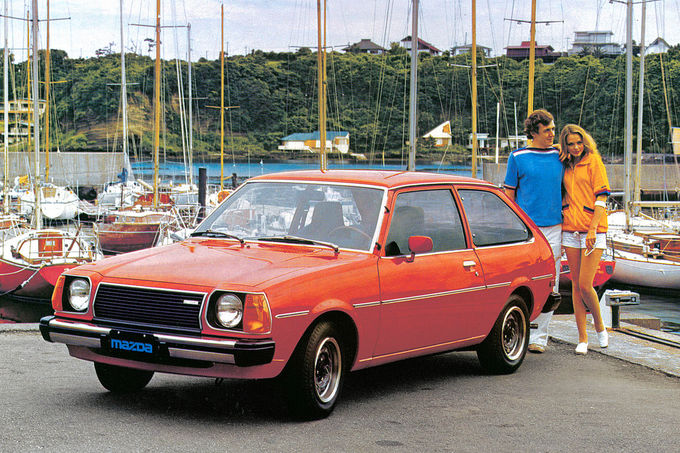 Mazda 323, Dreitürer
