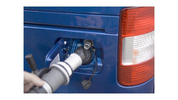 Mehr Erdgasautos auf den Straßen
