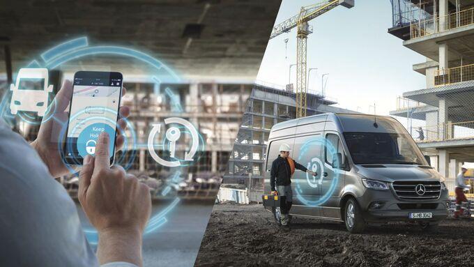 Mercedes-Benz PRO startet digitale Services für neuen Mercedes-Benz Sprinter: Interaktive und individuelle Flottenlösungen ab sofort online