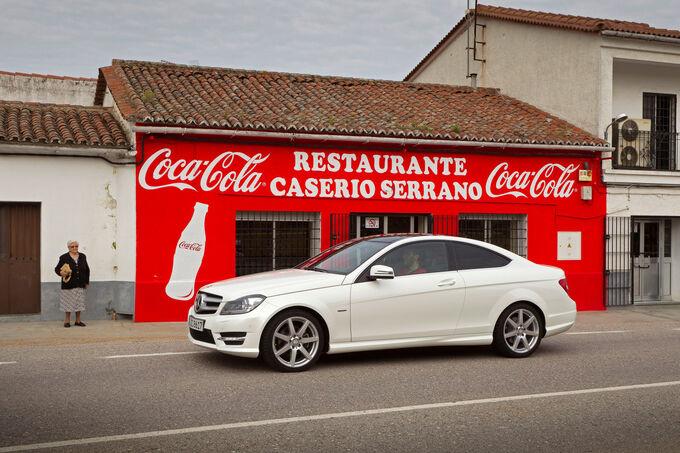 Mercedes C 220 CDI Coupe