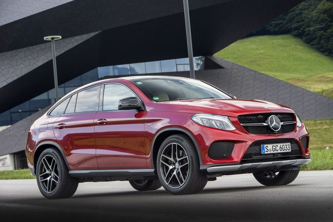 Mercedes GLE 500 e 4matic 2015