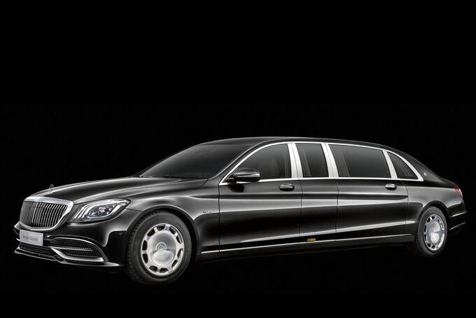 Mercedes-Maybach Pullman Facelift