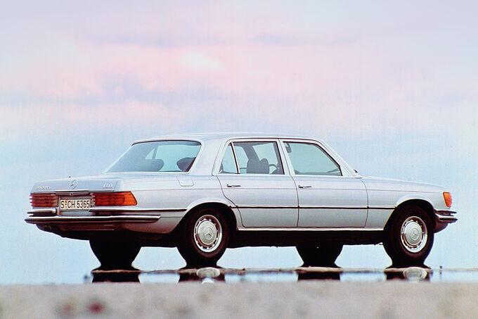 Mercedes W 116, Flaggschiff