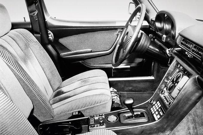 Mercedes W 116, Plüschig