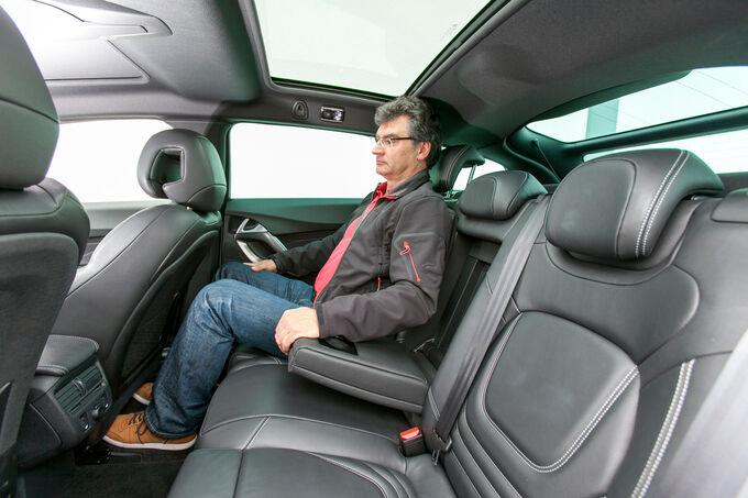 Modellcheck Citroën DS5, Sitze hinten