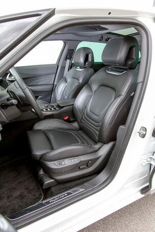 Modellcheck Citroën DS5, Sitze vorne