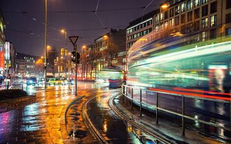 Nacht in München Innenstadt
