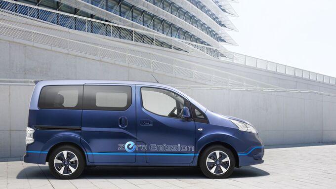 Nissan e-NV200 Evalia Kombi sieben Sitze Elektroauto E-Auto