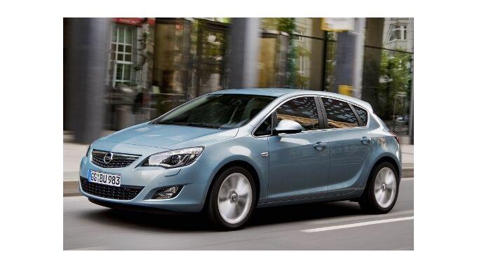 Opel Astra mit Stopp-Start-Automatik