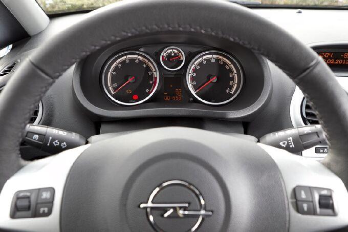 Opel Corsa Instrumente