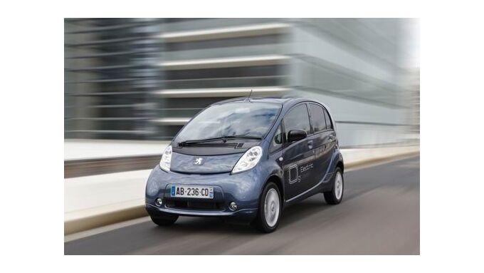 Peugeot vermietet Elektroauto Ion