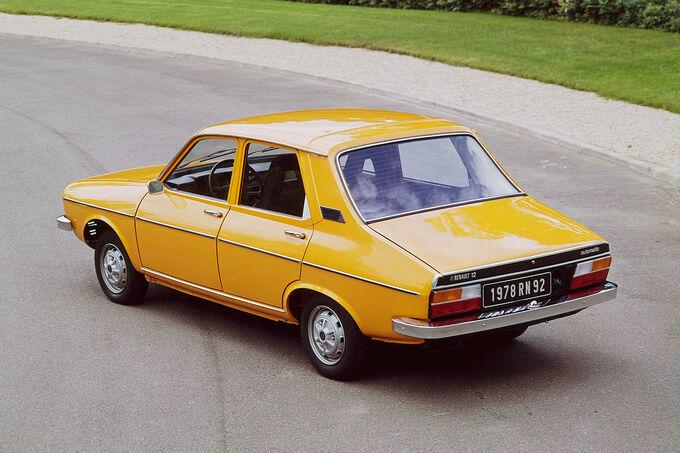 Renault 12, Trapezform