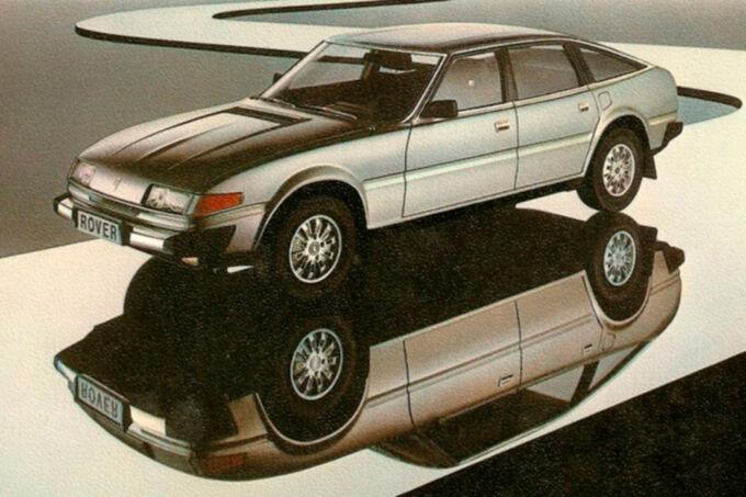 Rover 3500, Prospekt