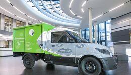 Mann + Hummel bauen Streetscooter mit Filtersystem
