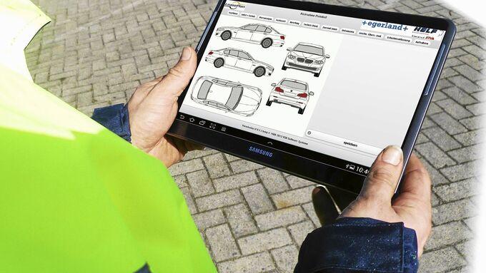 Tablet Fahrzeugrücknahmen, Lease Plan