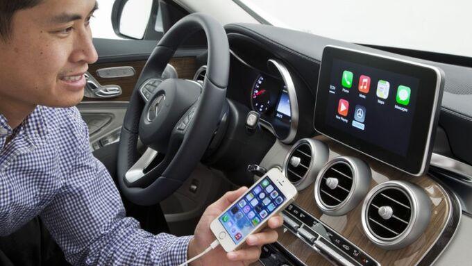 Telefon, App, Smartphone , Pkw, Anschluss