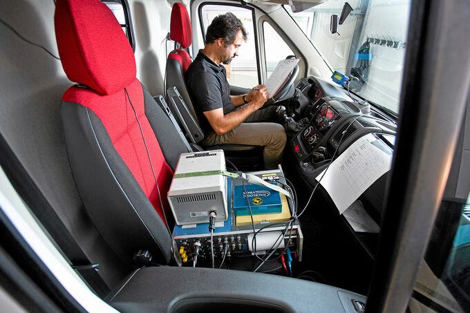 Test, Sommerreifen, Cockpit