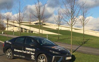 Toyota Mirai Brennstoffzelle FCV