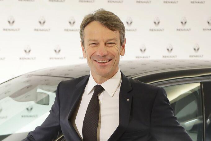 Uwe Hochgeschurtz, Vorstandsvorsitzender der Renault Deutschland AG, Vizepräsident VDIK
