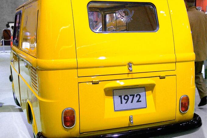 VW Fridolin, Heck