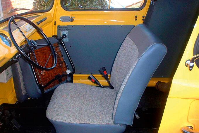VW Fridolin, Sitz