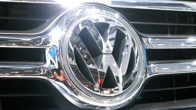 VW, Logo, Kühlergrill