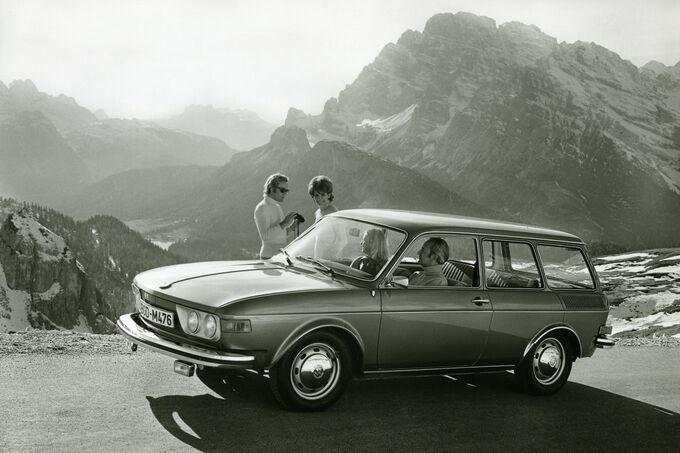 VW Typ 4, Variant, Urlaub