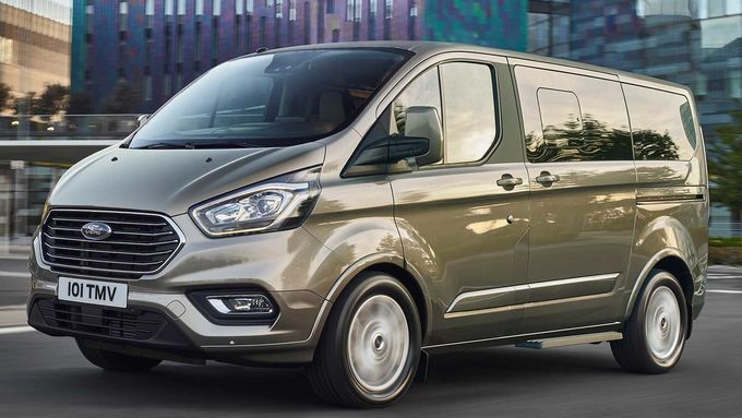 ford, tourneo, custom, facelift, 2018, schräg, vorne, links